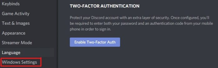 How to stop discord from opening on startup