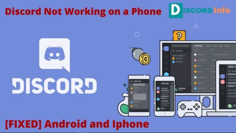 Discord not working on a phone