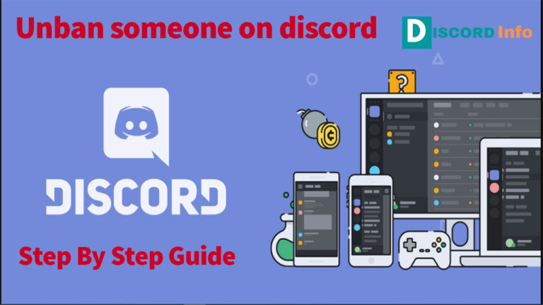how to unban someone on discord